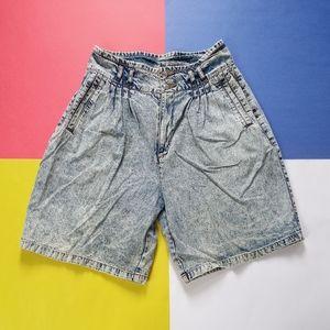 Vintage Jordache Acid Wash High Waist Shorts
